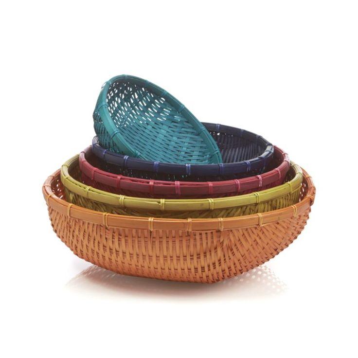 5-Piece Festival Basket Set  | Crate and Barrel
