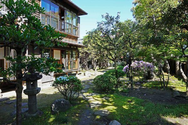 Japanese garden Niigata, Japan