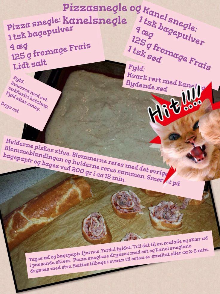 Pizza/kanel snegle
