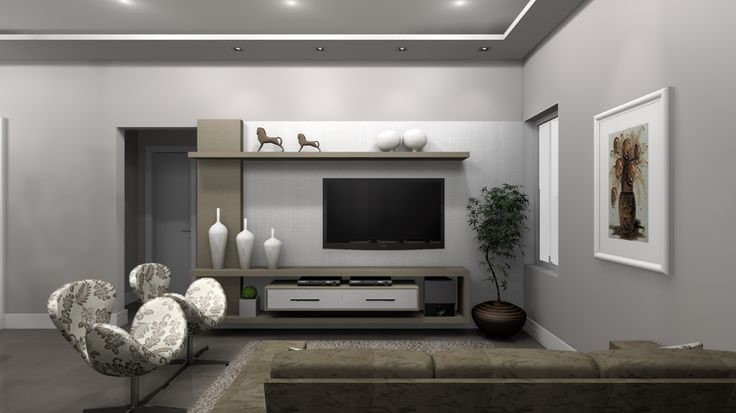 Sofa Bicama Para Sala De Tv ~ de tv painel lateral em madeira more room decor de tv wood sala tv tv