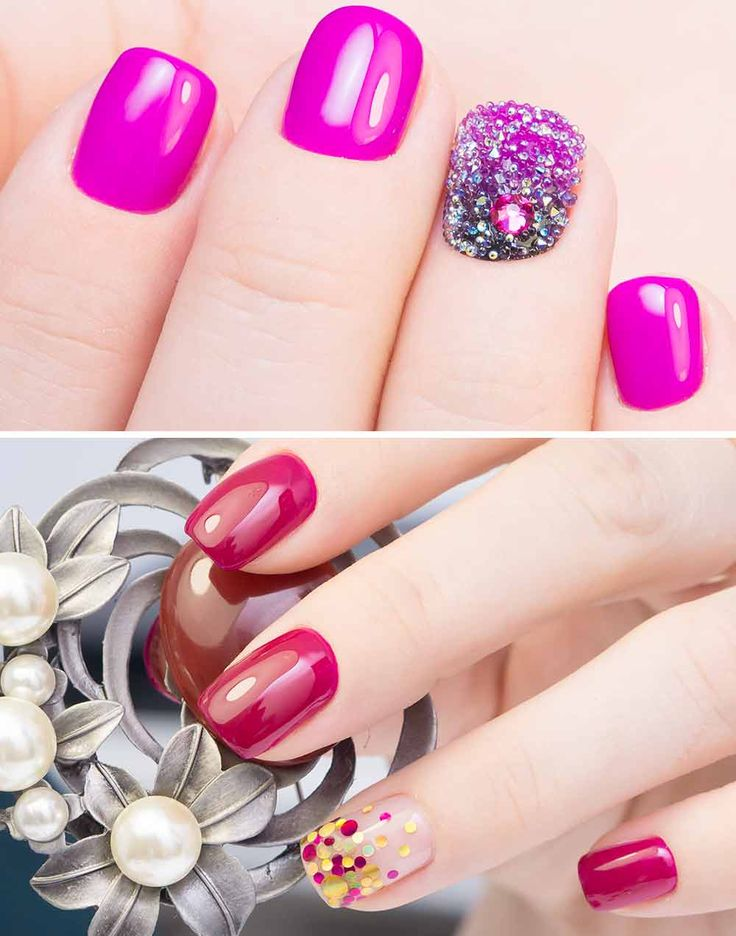 Accent Nail Art: what it is, how to do it, images examples – unghie
