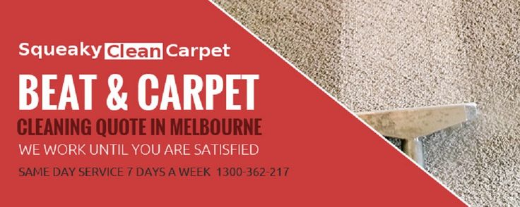 Squeaky Clean #CarpetMelbourne gives many reasons to our valued clients of Melbourne to choose us for ultimate carpet cleaning experience.