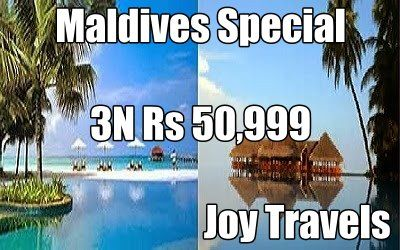 Maldives Special Holiday Package Know More http://www.joy-travels.com/package-details/81-maldives-special