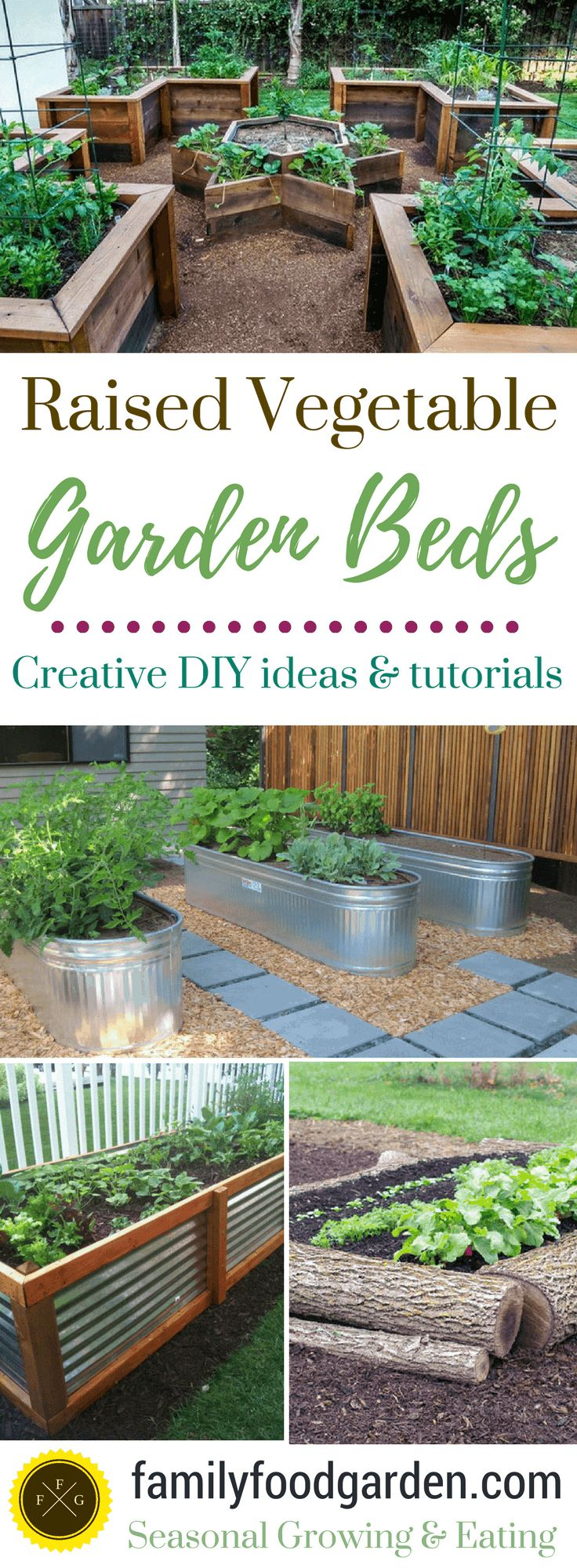 Raised Garden Bed Ideas & Plans