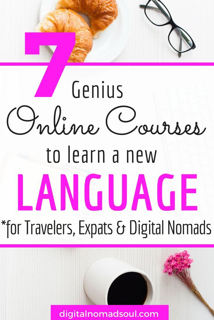 Do you want to learn another language? Here are the 7 best onlines courses that teach you a foreign language in no time and with hardly any effort! Check out your discounts! #traveltips