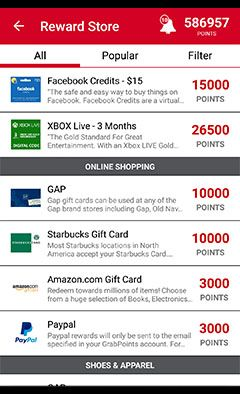 GrabPoints - Free Gift Cards! This site is awesome!! Such an easy way to earn gift cards or even add to your paypal account!! Use this referral code to get started! FWZ4XO