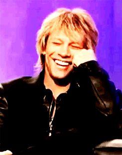Jon Bon Jovi....I love that smile
