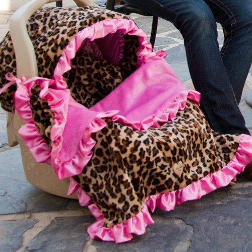 Leopard Print Baby Car Seat Covers Designer Car Seat