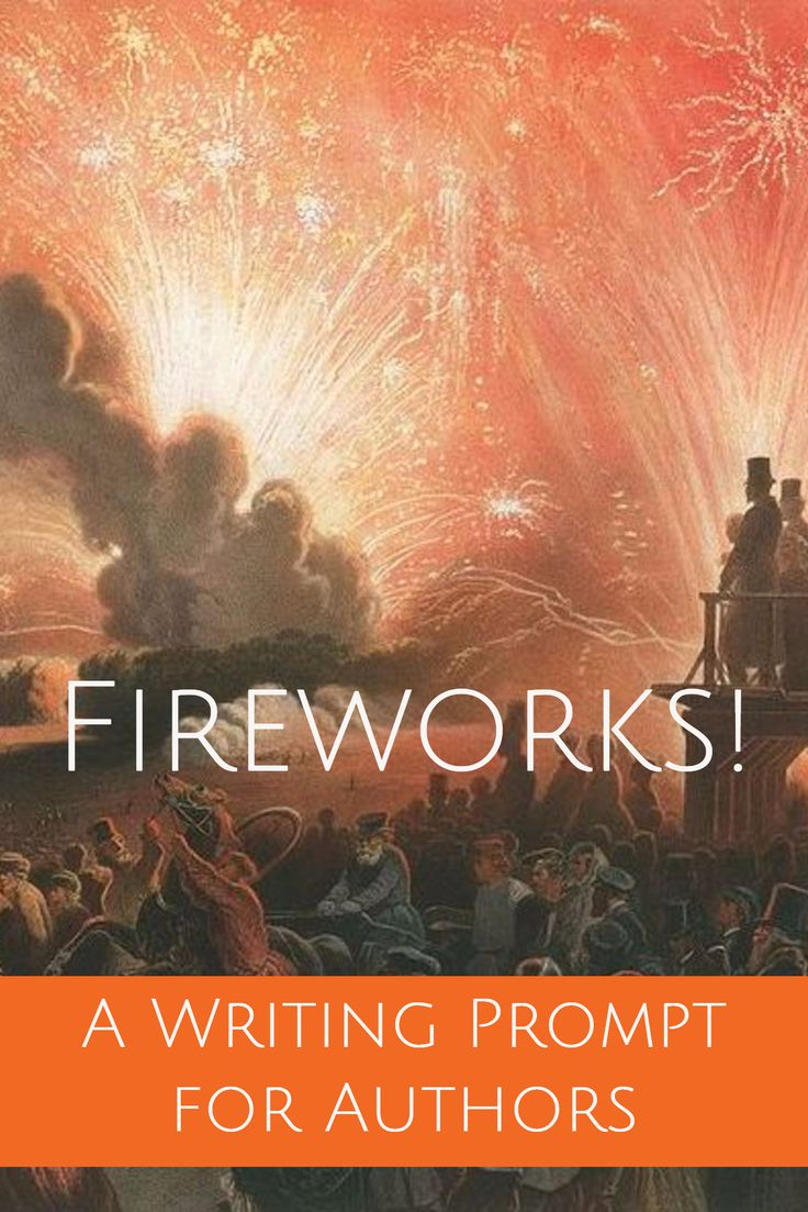 Get the full writing prompt at http://howtowritehistory.com/fireworks/  A Writing Prompt for Authors / Fireworks! Image source: Fireworks / Feuerwerk ( Chromo-lithographie) Date	1856 Source	Alexander II. Coronation Book of 1856 Author	Henri Pierre Léon Pharamond Blanchard  // via Public Domain.   If you write historical fiction set in the Middle Ages, historical novels in the 18th, 19th or 20th century, sign up to receive Historical Fiction Prompts at:http://howtowritehistory.com/fireworks/
