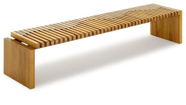 Onda Bench Contemporary Indoor Benches Miami Rotsen Modern 400 x 300