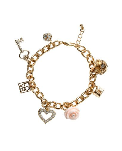 Love Squared Charm Bracelet - Teen Clothing by Wet Seal