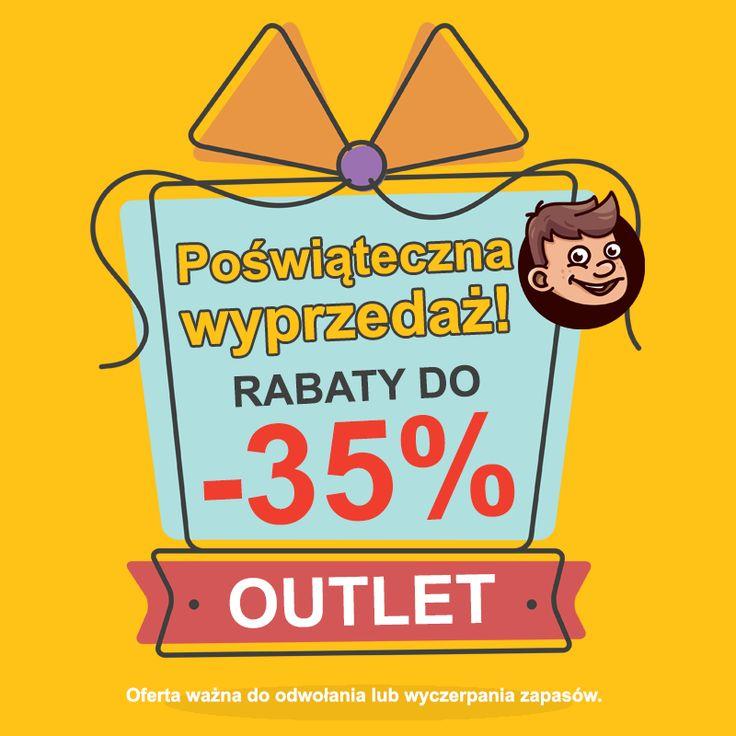 Poświąteczna wyprzedaż! 💥👉do - 35%! 👉 https://brykacze.pl/outlet-126 Oferta ważna do odwołania lub wyczerpania zapasów. #wyprzedaż #zabawki #promocje