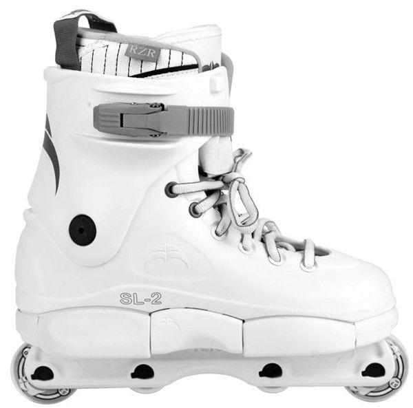 Razors SL 2 Complete Skates - White/Grey                              …