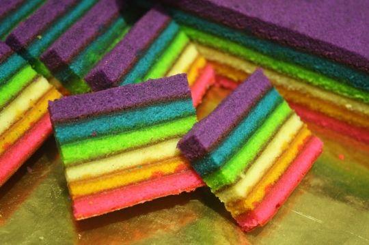 Sarawak Layer Cake (Kek Lapis)   KeepRecipes: Your Universal Recipe Box