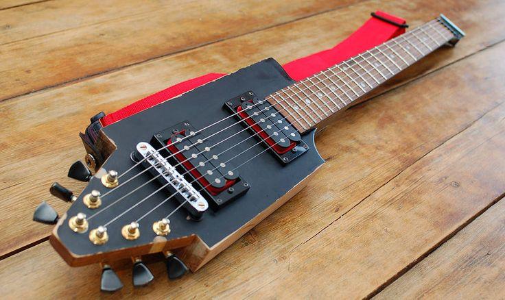 DIY Campervan Travel Guitar