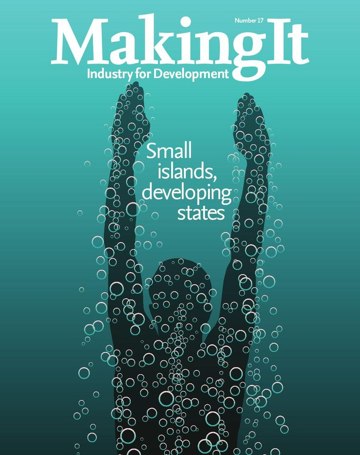 ISSUU - Small islands, developing states. Issue 17 by UNIDO