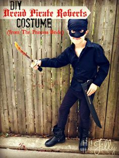 DIY Costume: The Dread Pirate Roberts from The Princess Bride