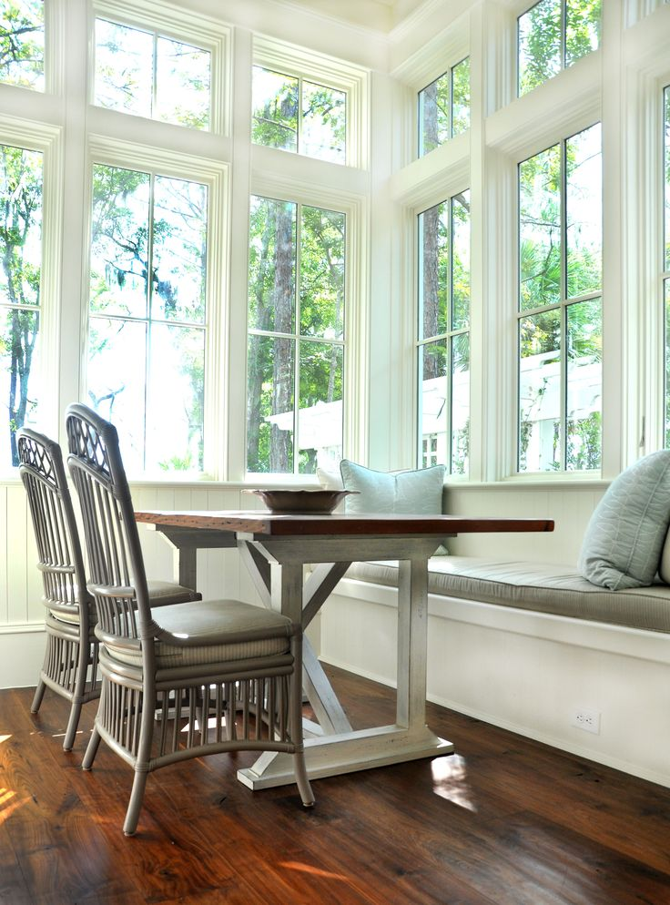 Eat In Kitchen Bench Seat Full Windows Interior Design Diy Furniture Plans Woodworking