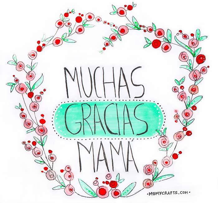 Feliz día de la Madre. Felicidades Mamá!
