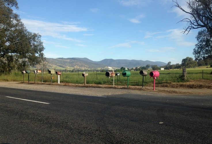 Post Boxes in rural Victoria near Mt Beauty