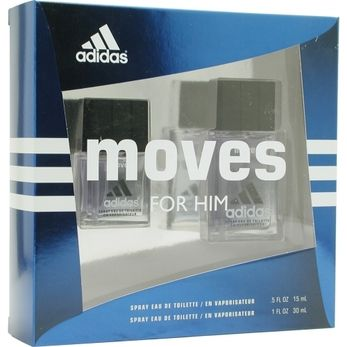 Launched by the design house of Adidas in 1999, ADIDAS MOVES by Adidas for Men posesses a blend of: jasmine, black pepper, clove, spicy notes It is recommended for daytime wear.