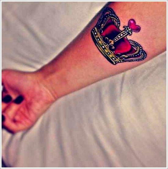 Glorious Crown Tattoo Designs: My Love Crown Tattoo ...