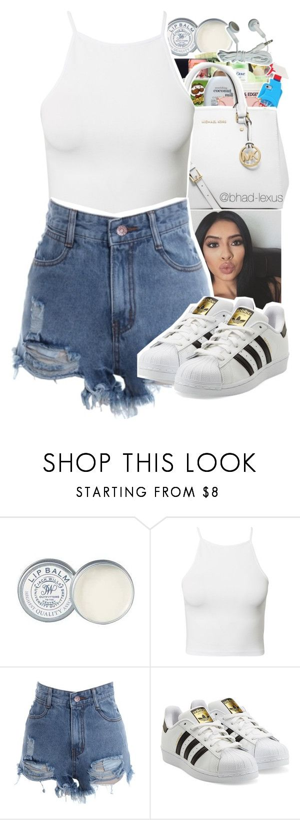 """untitled #141"" by xxsaraxtaraxx ❤ liked on Polyvore featuring Jack Wills, NLY Trend and adidas Originals"