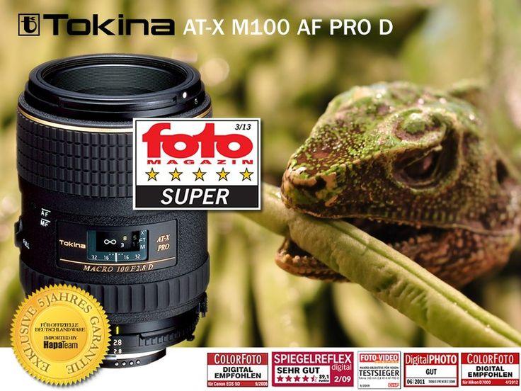 Tokina AT-X M100 AF PRO D Makro Objektiv