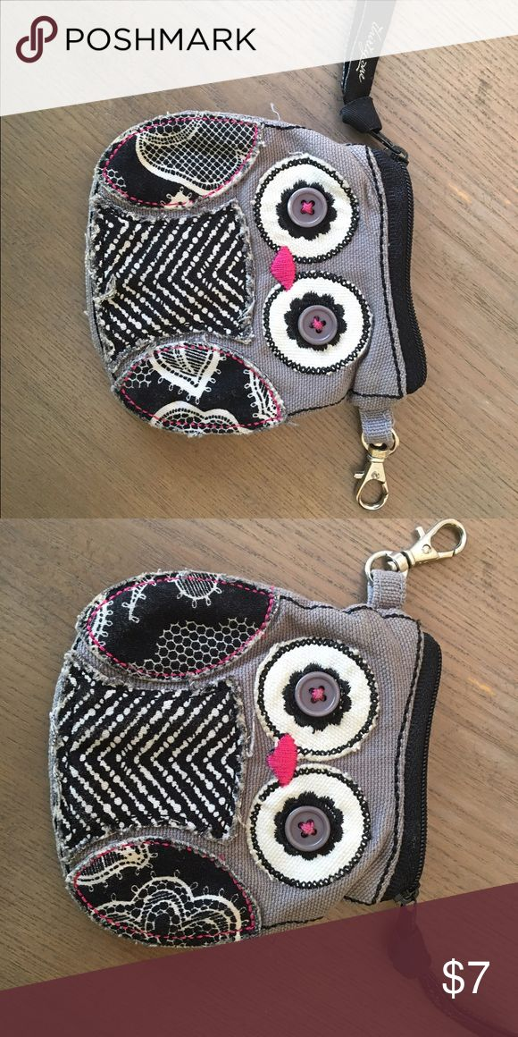 Thirty-one owl coin purse. 🦉 Cute!!! Excellent condition. Thirty-One Bags