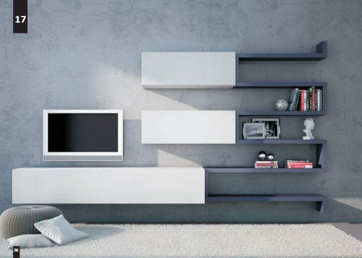 Kico living composizione n 17 moderno soggiorno