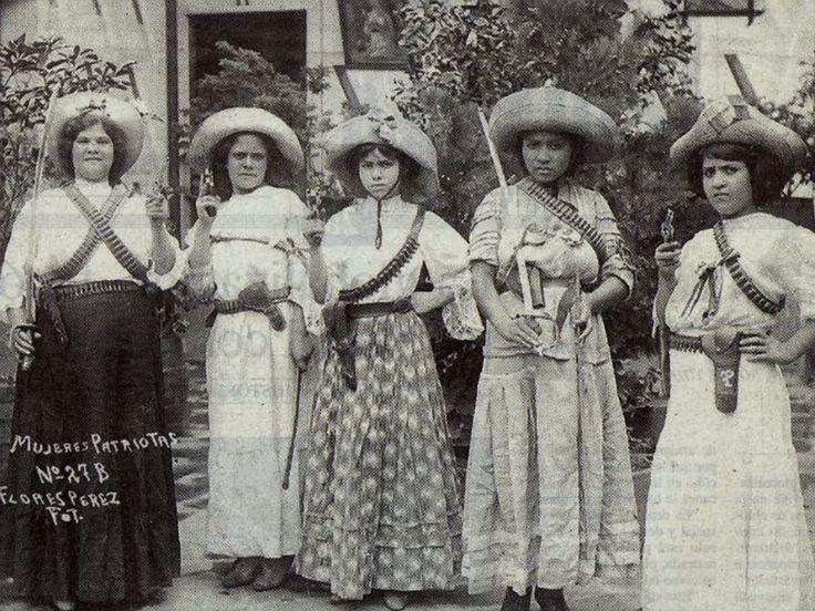 z- Las Adelitas - Women of Mexican Revolution -2b