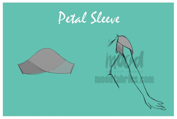 Sleeve designs can be a little bit intimidating. Drafting them is kind of a science on its own, and it's hard to imagine what shape you need to start with if you have no prior experience with patterni