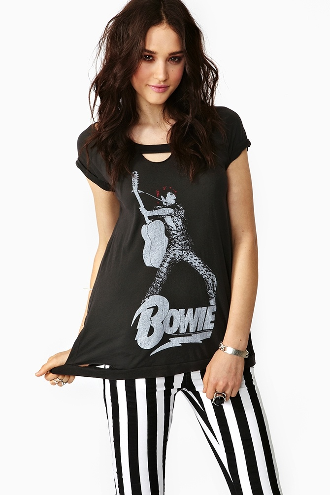 Bowie Torn Tee