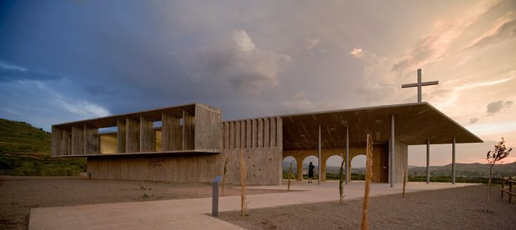 otxotorena arquitectos: shrine of the virgin of la antigua, spain