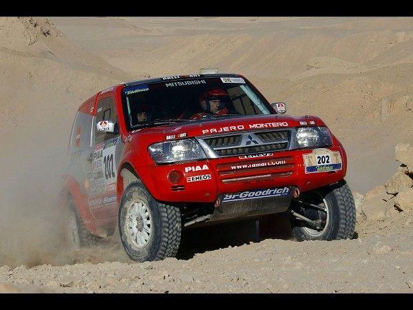 Vehicles Wallpaper : Pajero - Rally