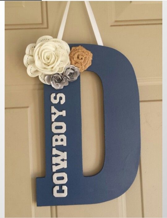 25 best ideas about dallas cowboys wreath on pinterest On dallas cowboys arts and crafts