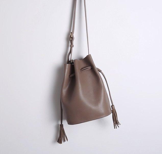 Drawstring Bucket Bag Home Bags And Buckets