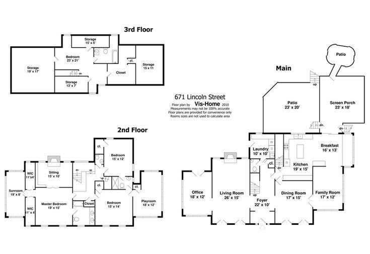 Home Alone House floor plan (927×637)