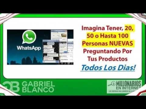 Whatsapp Selling. Whatsapp Revolucion Review . https://www.youtube.com/watch?v=eij023OK980.Vídeo relacionado para  saber como aumentar las ventas a traves de whatsapp. Más información en el siguiente artículo: http://www.dinerofamiliar.com/vender-mas-whatsapp-whatsapp-selling/
