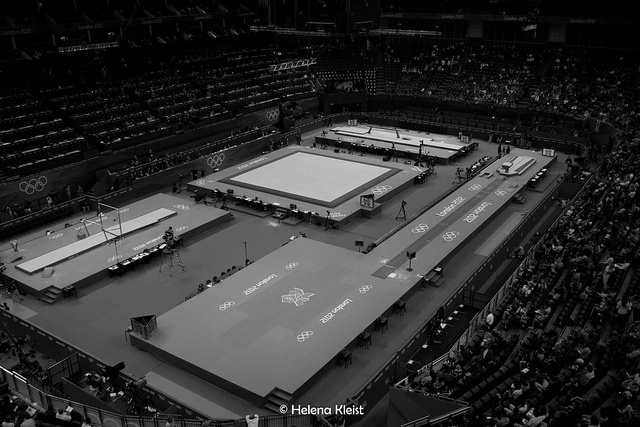 O2 arena, gymnastics venue, london 2012, olympics     Fit athletes See Usain Bolt 100m video http://www.joggingtoloseweight.org/olympics-star-usain-bolt/