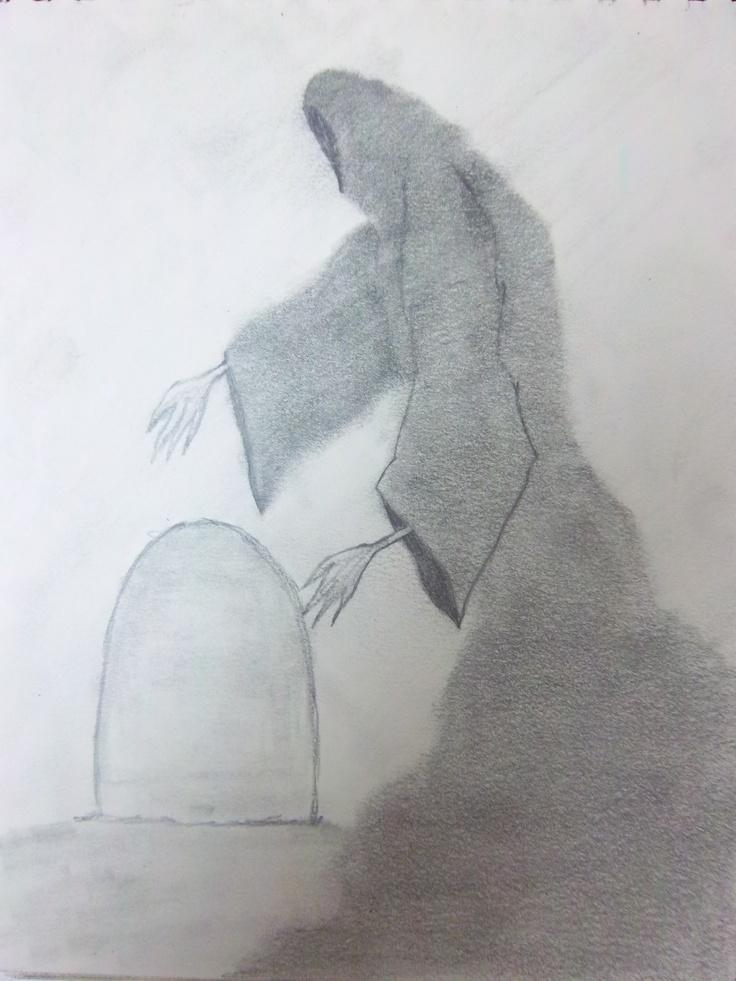 """Reaper"" by Seth Daniel, Pencil"