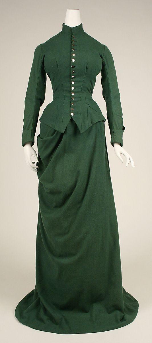 Riding Habit Date: ca. 1875 Culture: American Medium: wool
