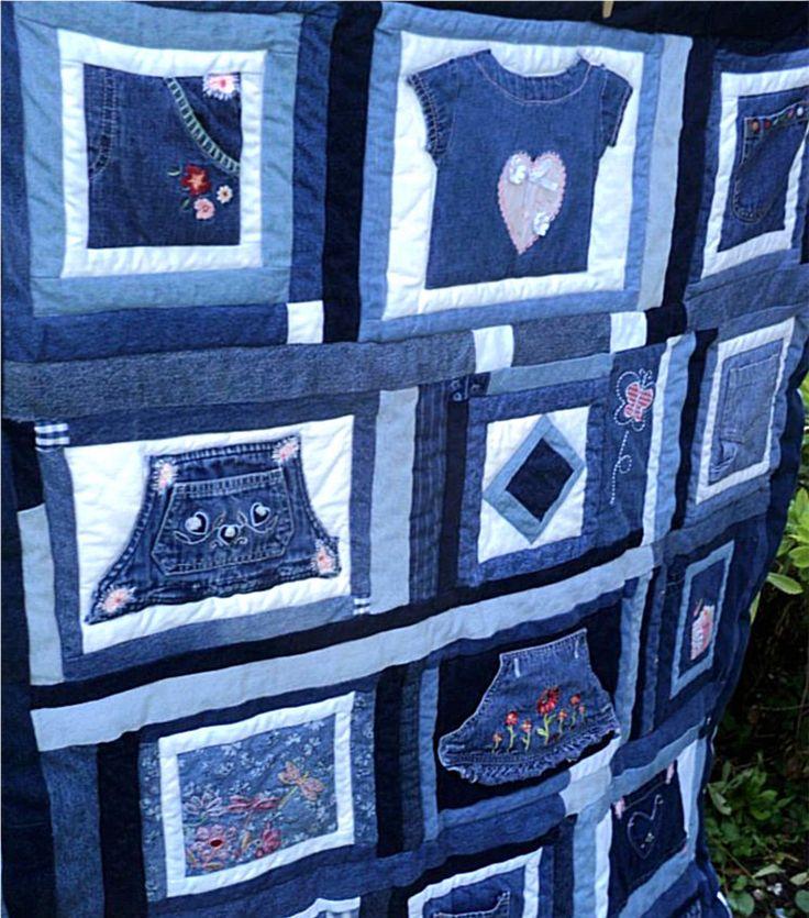 151 Best Denim In Quilts Images On Pinterest Cowboys