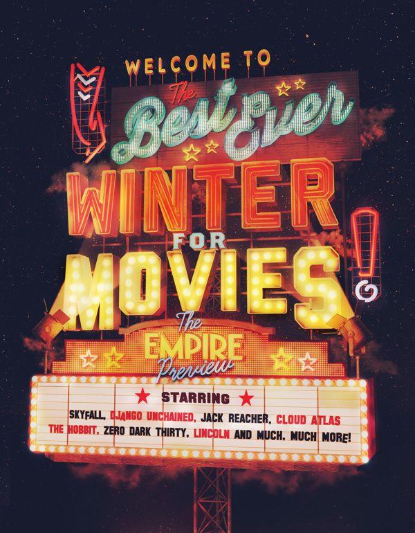 Empire Winter Movies by ILOVEDUST, via Behance