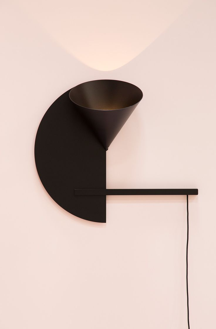 Cirkel Wall light is one of the others prototypes presented ate Salone del Mobile 2016. This light belongs to Cirkel collection includes floor lamp, coffee table and a series of small wooden objects have round mirrors inlaid in their smooth surfaces. The series is based on circular geometry and the designers developed each piece as a twodimensional drawing.