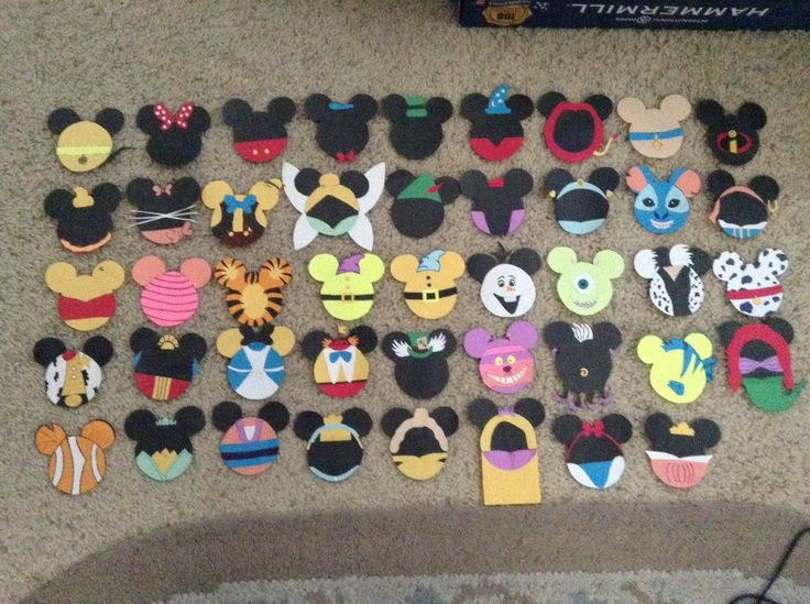 Some of the most time consuming Disney Door Decs, but seriously the cutest.