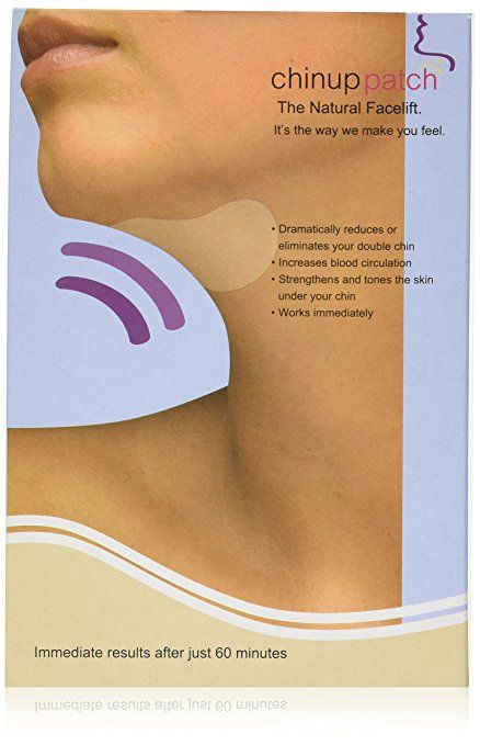Ultimate Chin up Applicator, Body chin up Wrap. It works for Double Chin reduction, Chin & Neck Slim, Shape and Firming. Box 5 wraps (Masks)