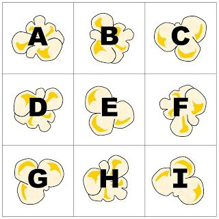 Relentlessly Fun, Deceptively Educational: Popcorn Letters (Pre-K and Elementary Spelling)