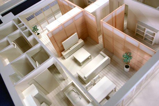 建築模型 【インテリア・室内模型2】 | In made in blog