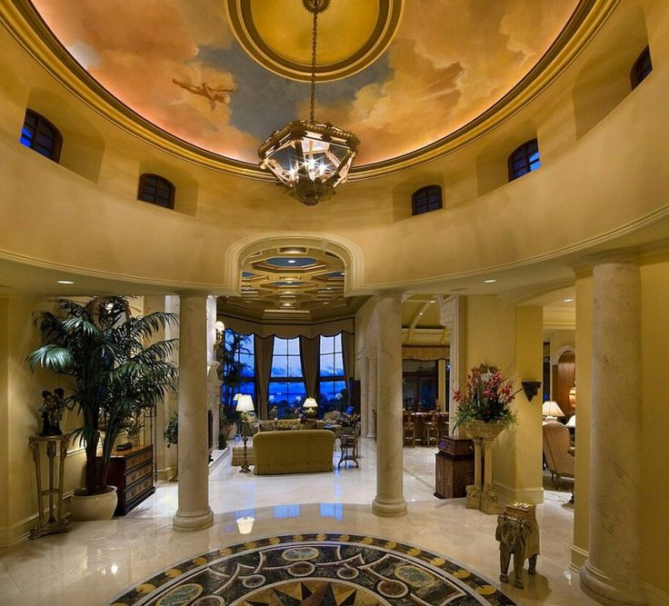 Mediterranean Grand Foyer : Best images about grand foyer on pinterest mansions